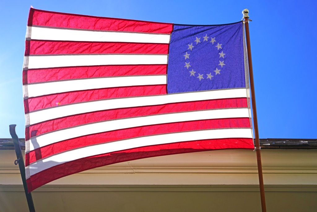 Betsy Ross 13 Colonies Flag School Lessons