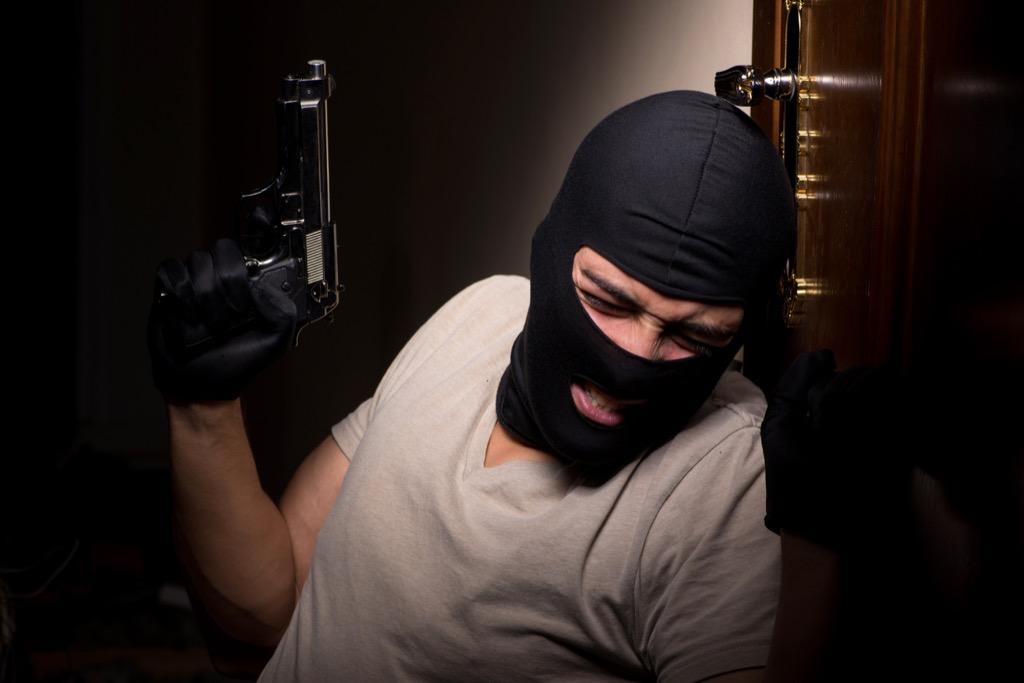 Burglar Corny Jokes