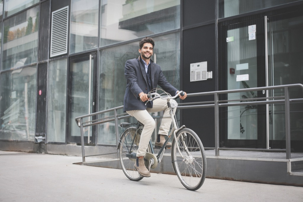 Businessman on Bike Corny Jokes