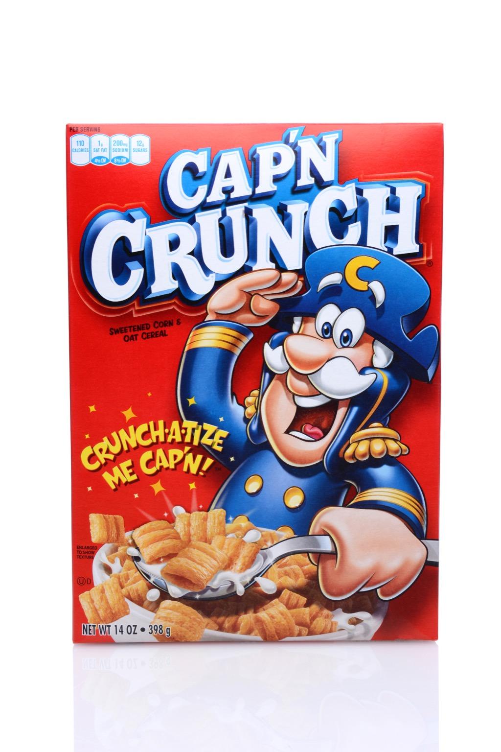 Cap'n Crunch Cereal Random Facts