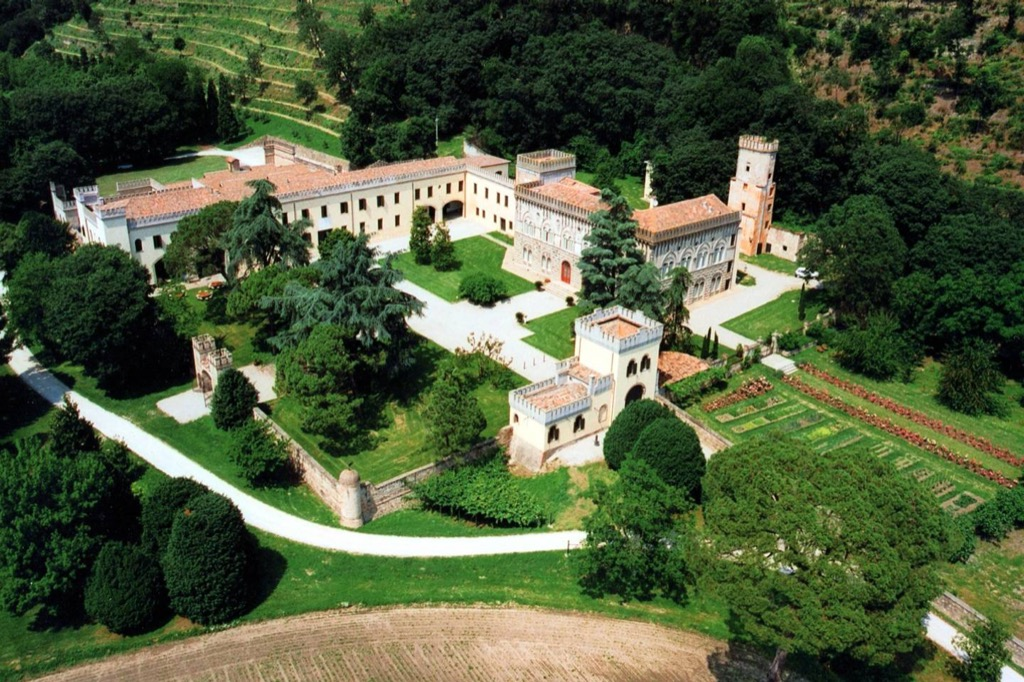 Castle Monselice, Italy airbnb