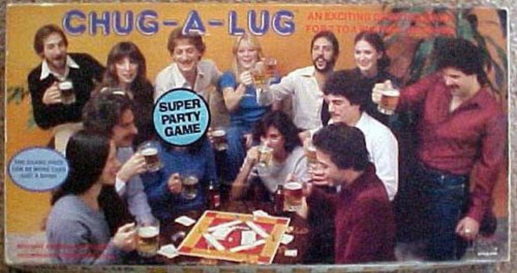 Chug-a-Lug Board Games
