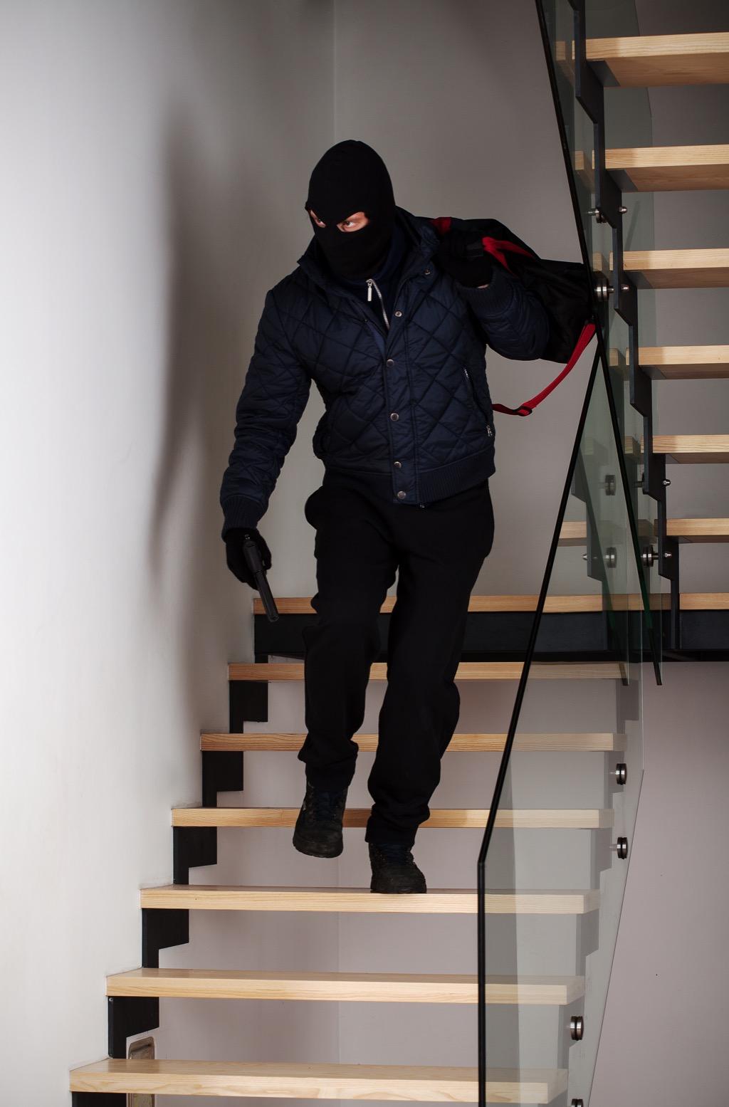 Criminal Walking Down Stairs Corny Jokes