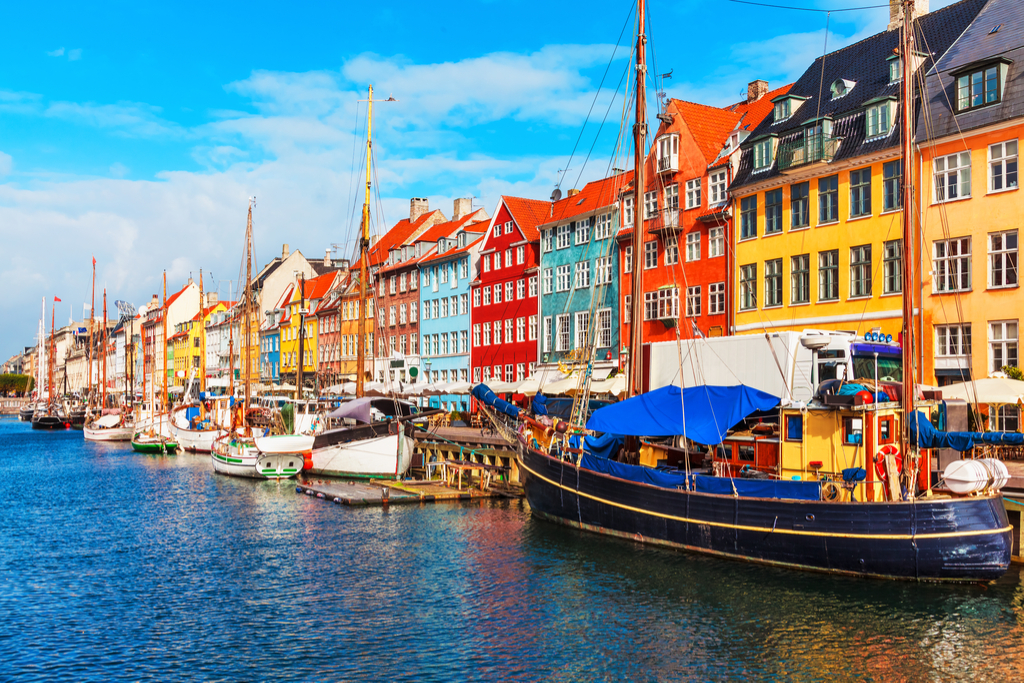 Denmark Tourists
