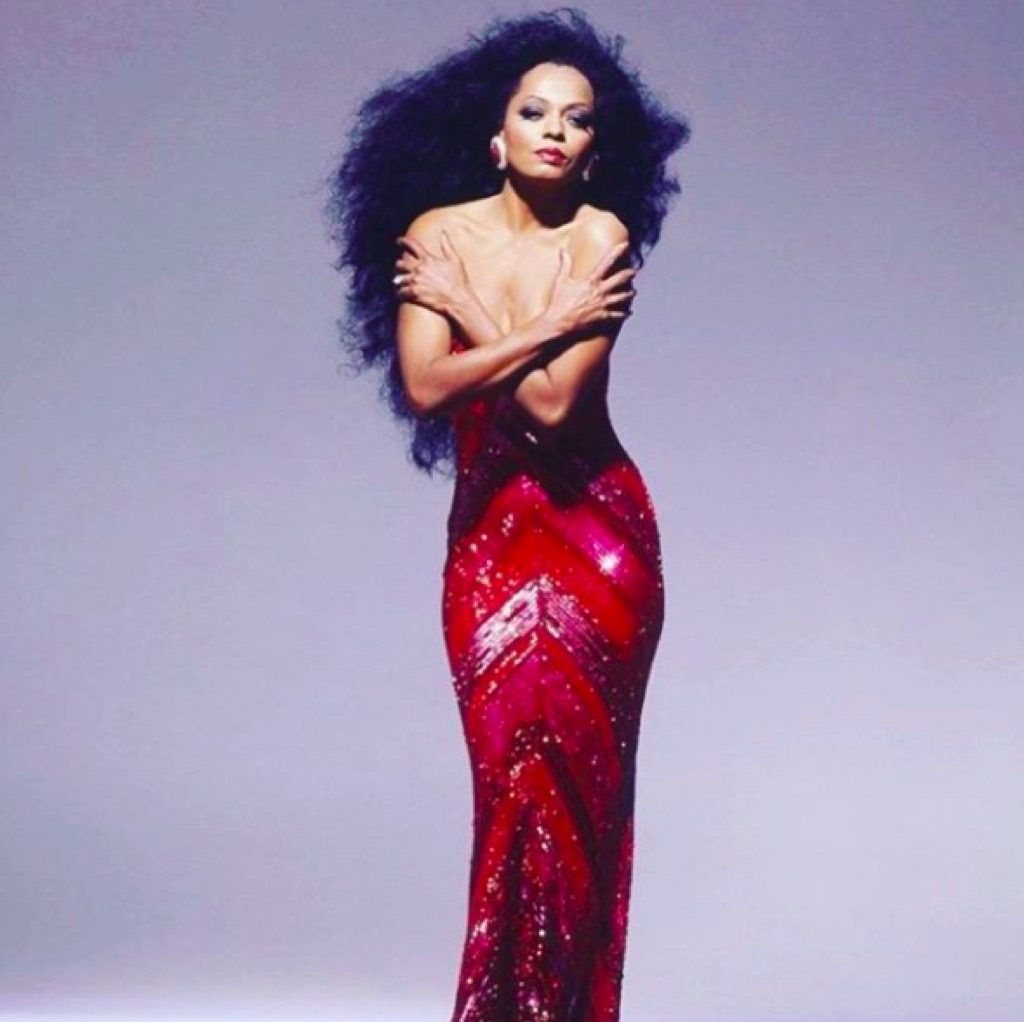 Diana Ross iconic hair
