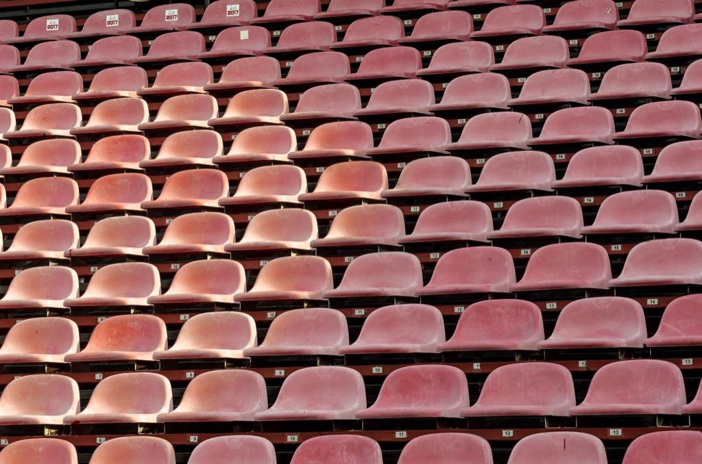 Empty Stadium Corny Jokes