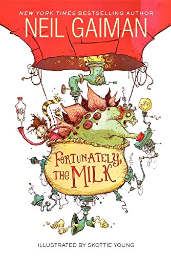Fortunately, the Milk Neil Gaiman Jokes From Kids' Books