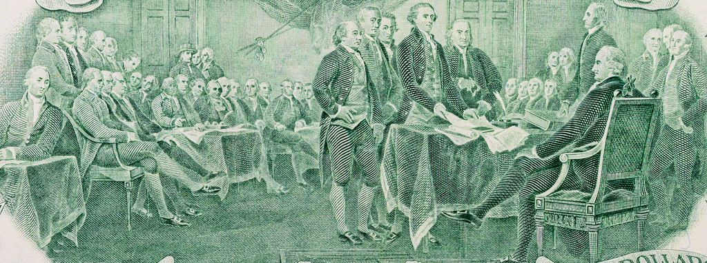 Founding Fathers Signing Constitution Civic Studies
