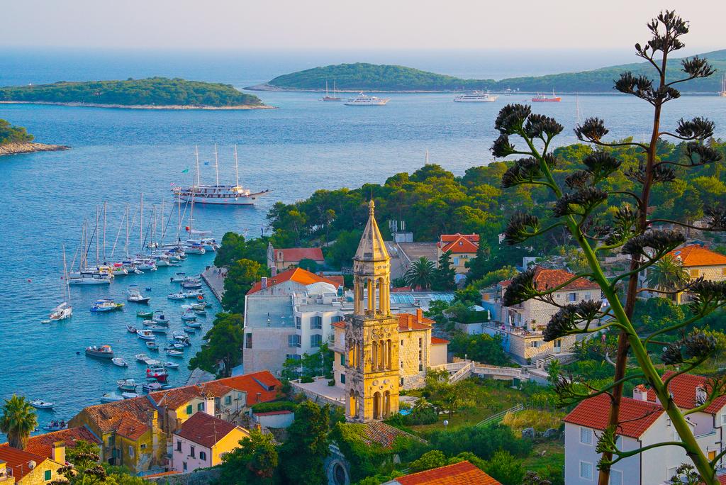 Hvar, Croatia, tourists, travel