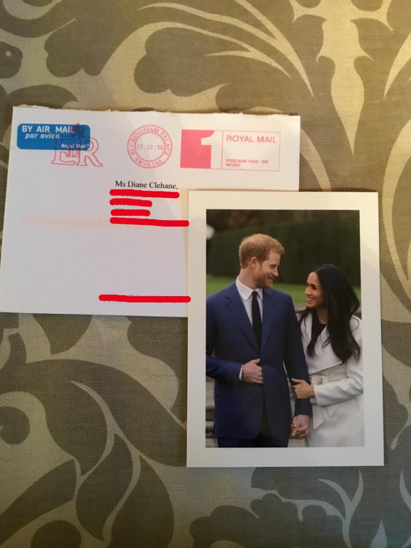 prince harry meghan markle letter