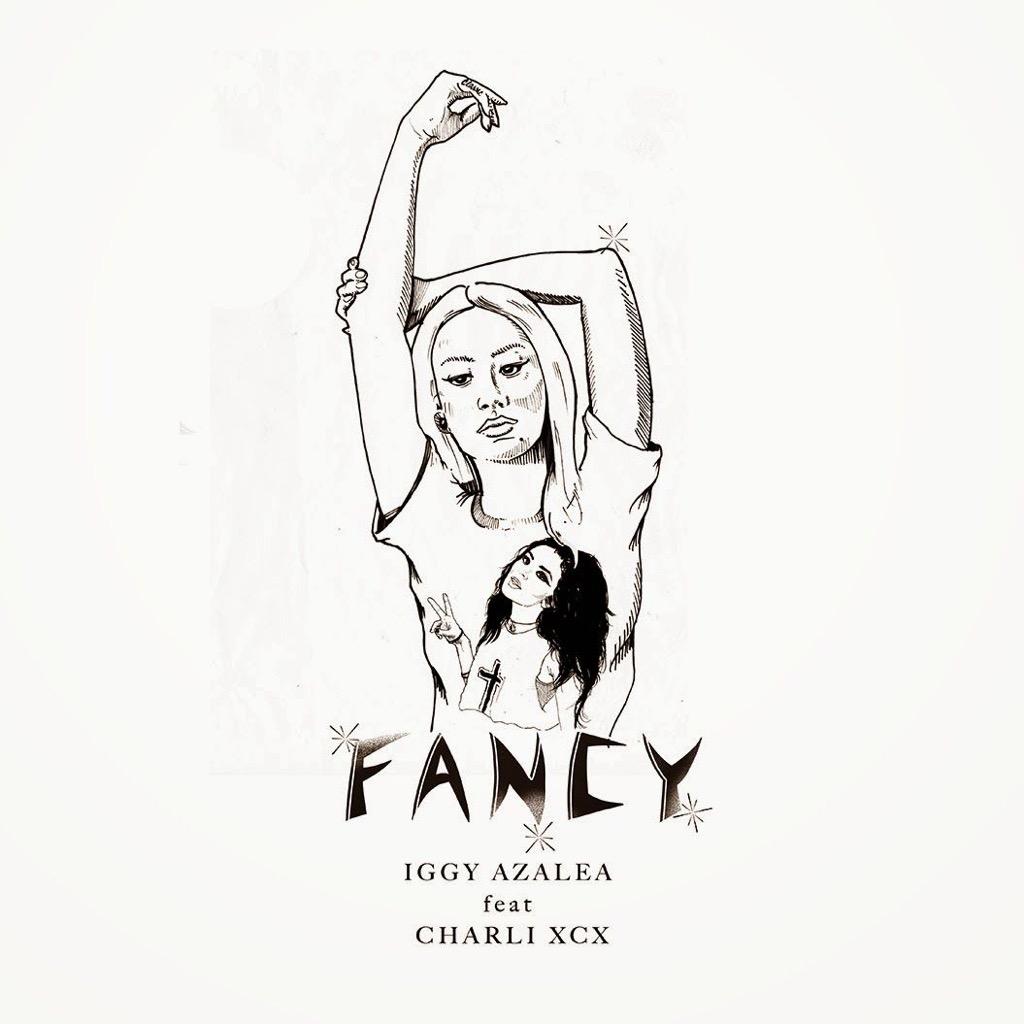 "Iggy Azalea ""Fancy"" single cover"