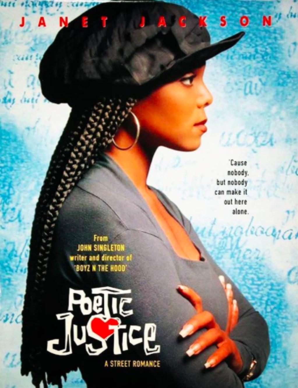 Janet Jackson iconic box braids Poetic Justice