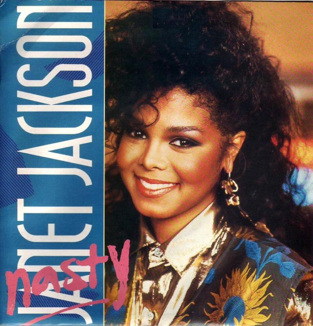 Cover of Nasty by Janet Jackson