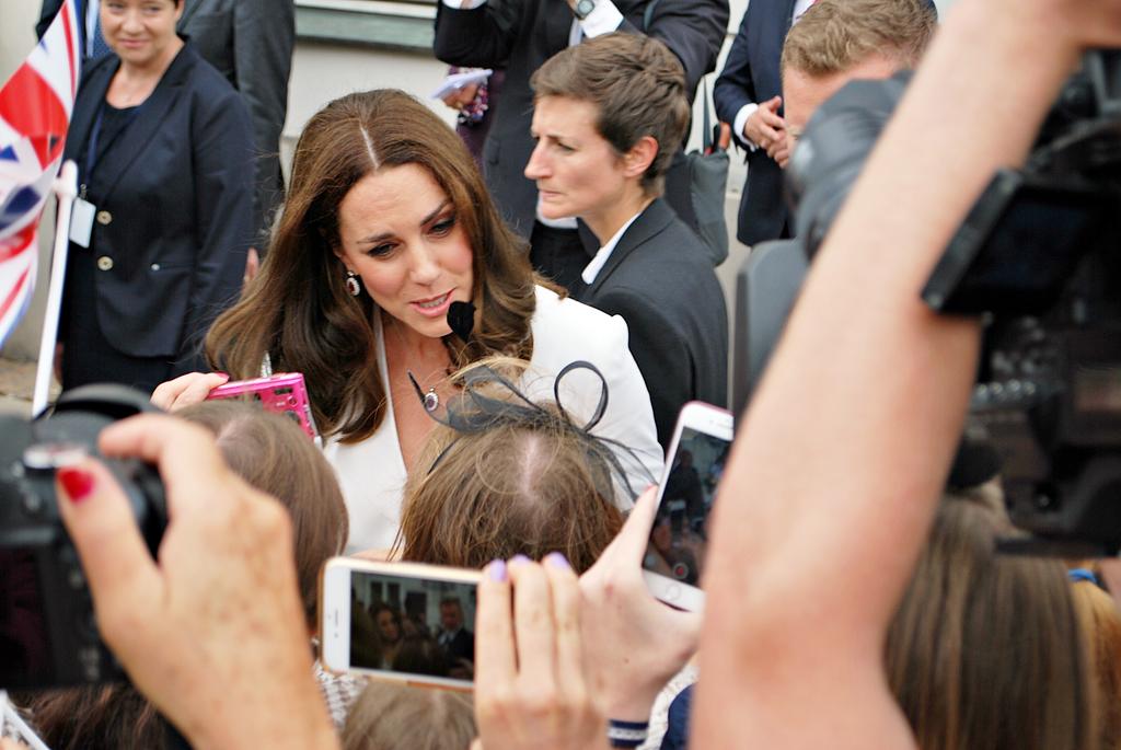 Kate Middleton Childlike