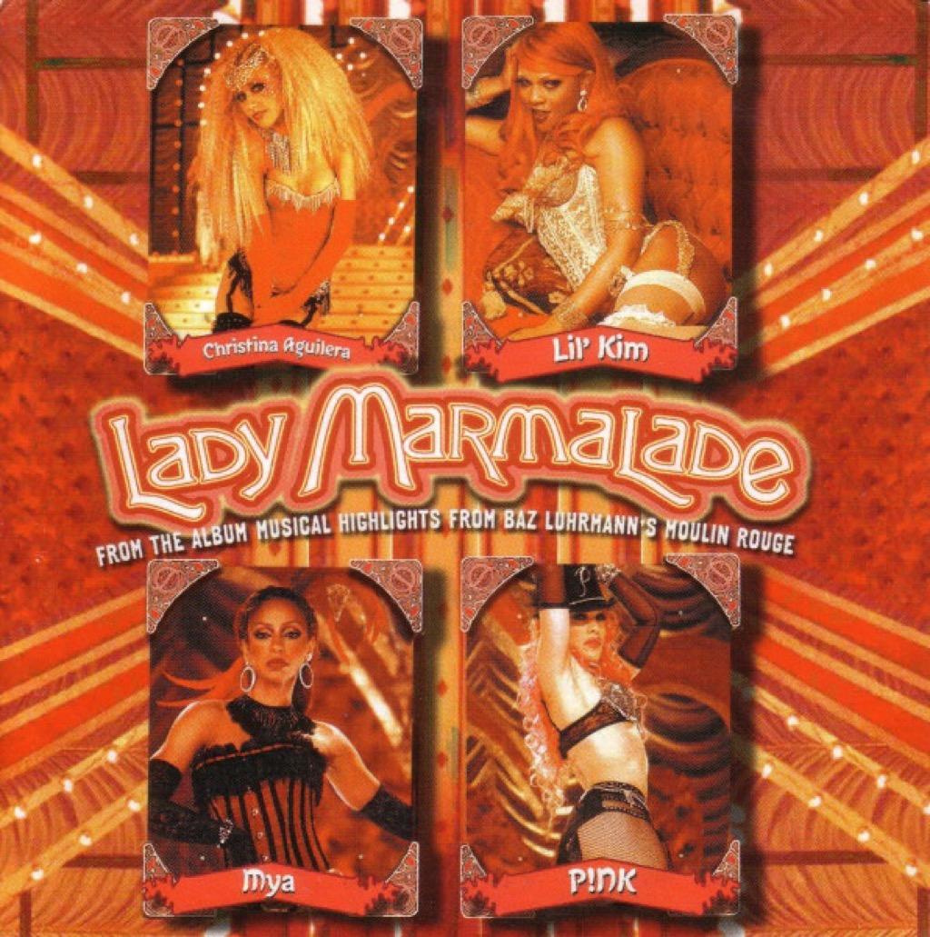 """Lady Marmalade"" single cover"