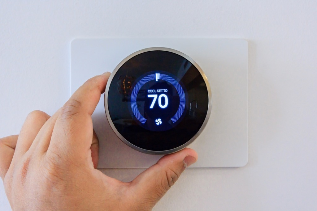 thermostat ways to bring down a/c bill