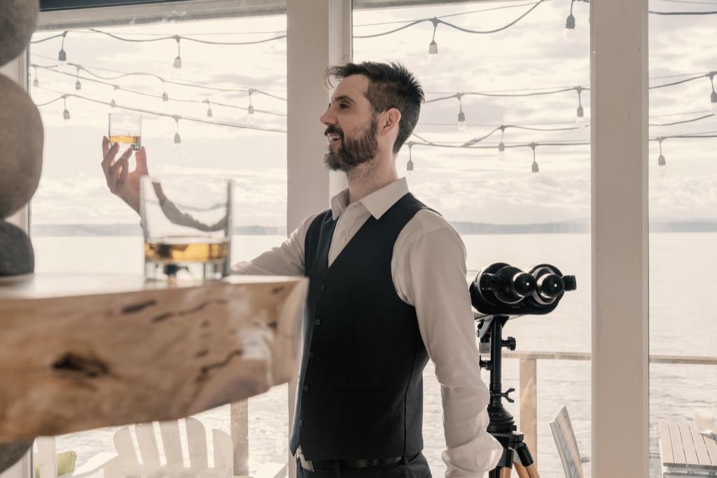 Man Making Wedding Toast Awkward Moments