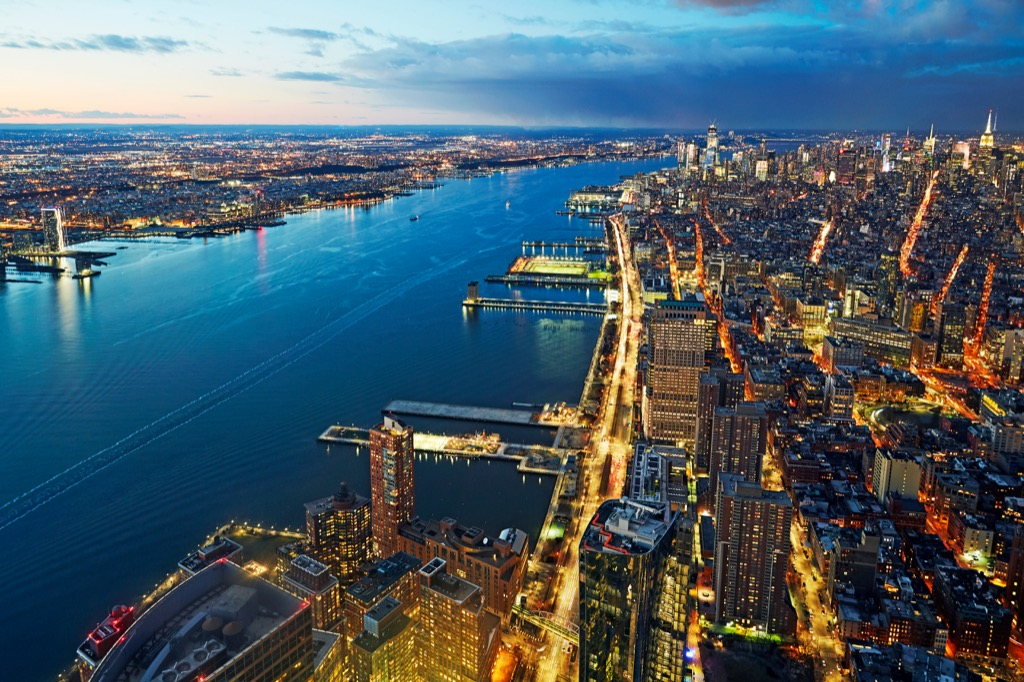 Aerial View of Manhattan School Lessons