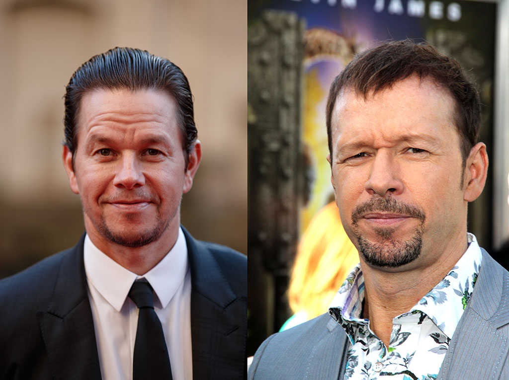 Mark and Donnie Wahlberg Celebrity Siblings