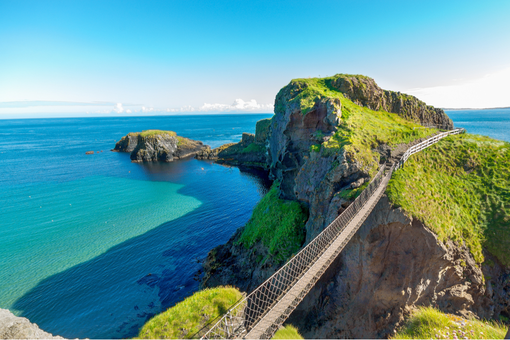 Northern Ireland tourists