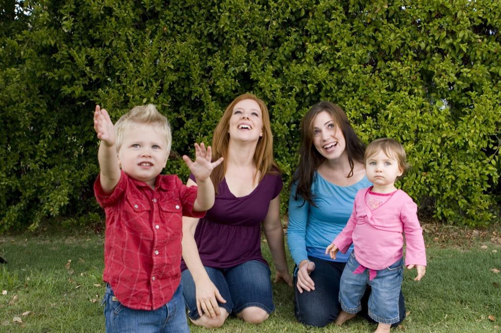 women with their children, prepare children for divorce