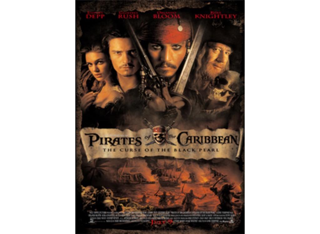 Pirates of the Caribbean summer blockbuster