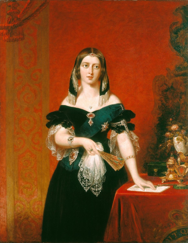Queen Victoria Painting School Lessons