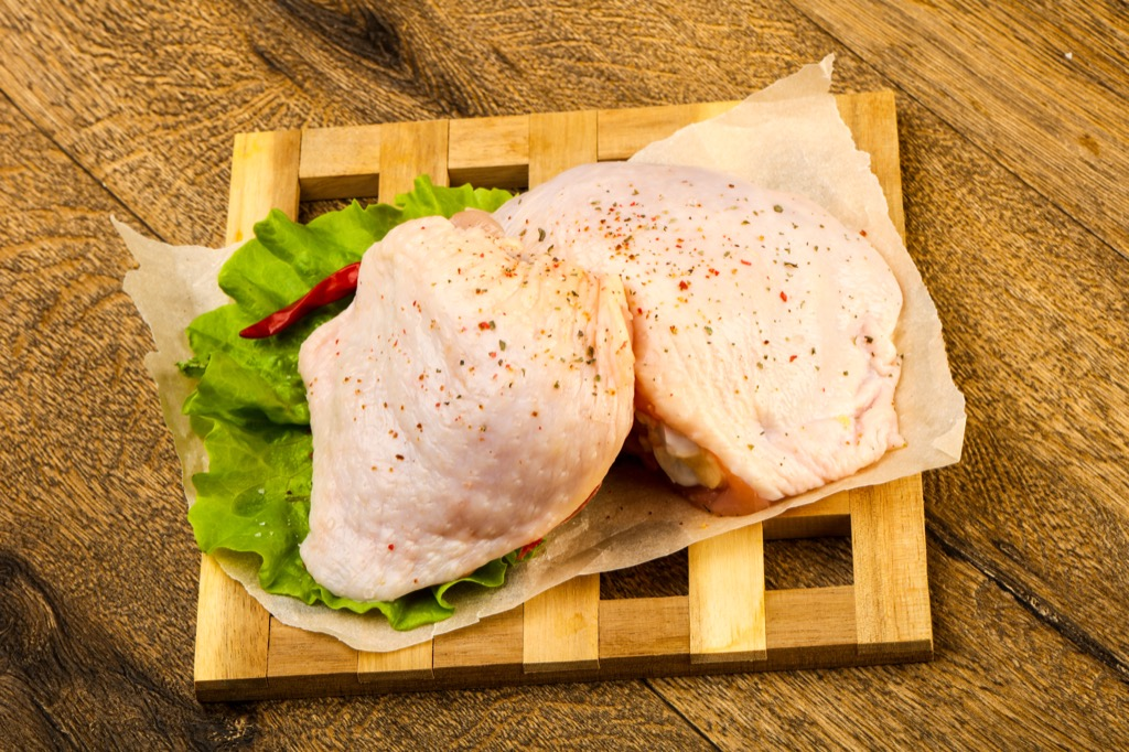 Raw Chicken Thighs Grocery Shopping Mistakes