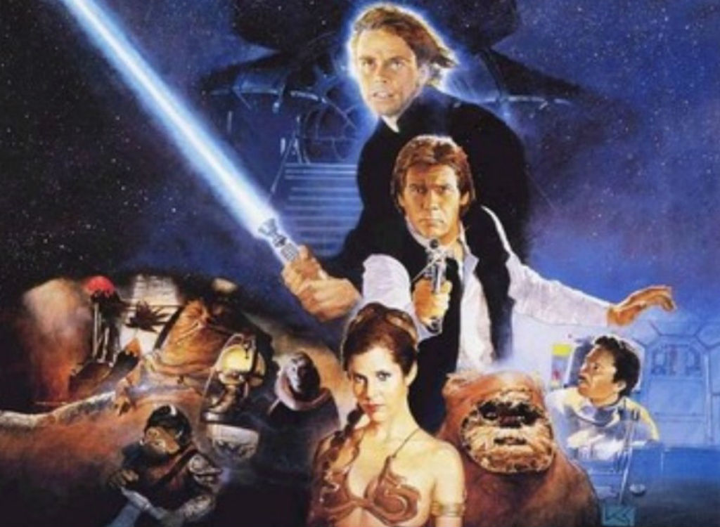 Return of the Jedi summer blockbuster