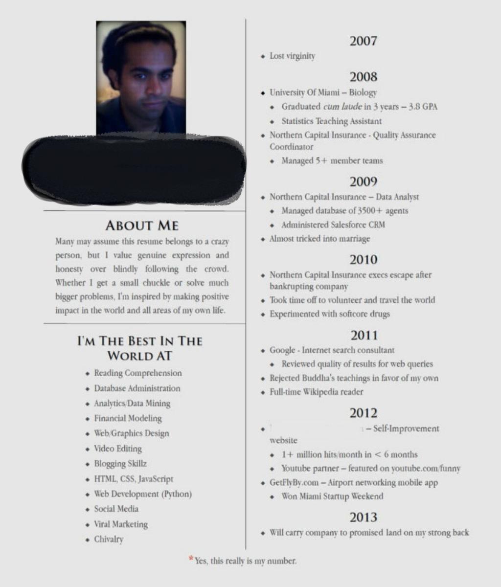 Worst resume mistakes