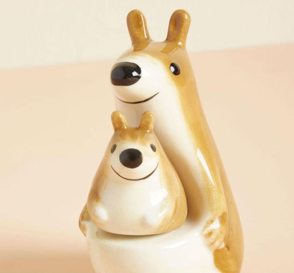Kangaroo shakers mother's day