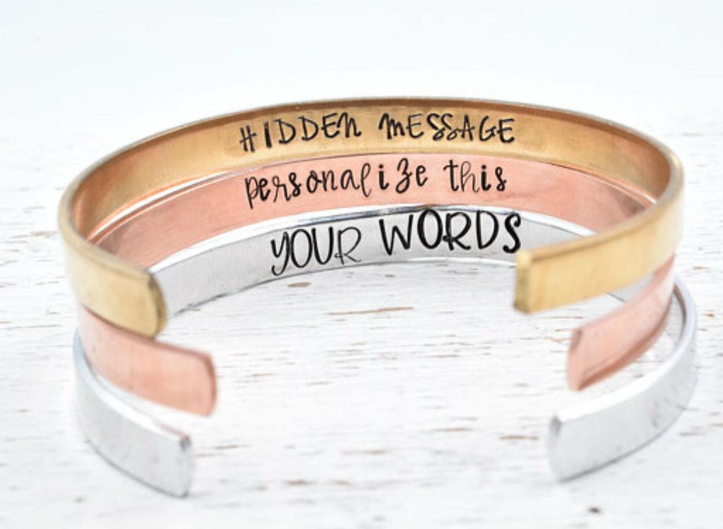 Secret Message Bracelet mother's day gifts