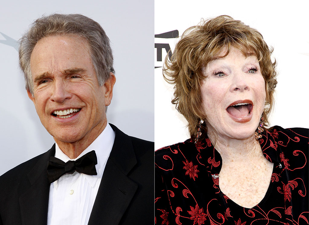 Warren Beatty and Shirley MacLaine Celebrity Siblings
