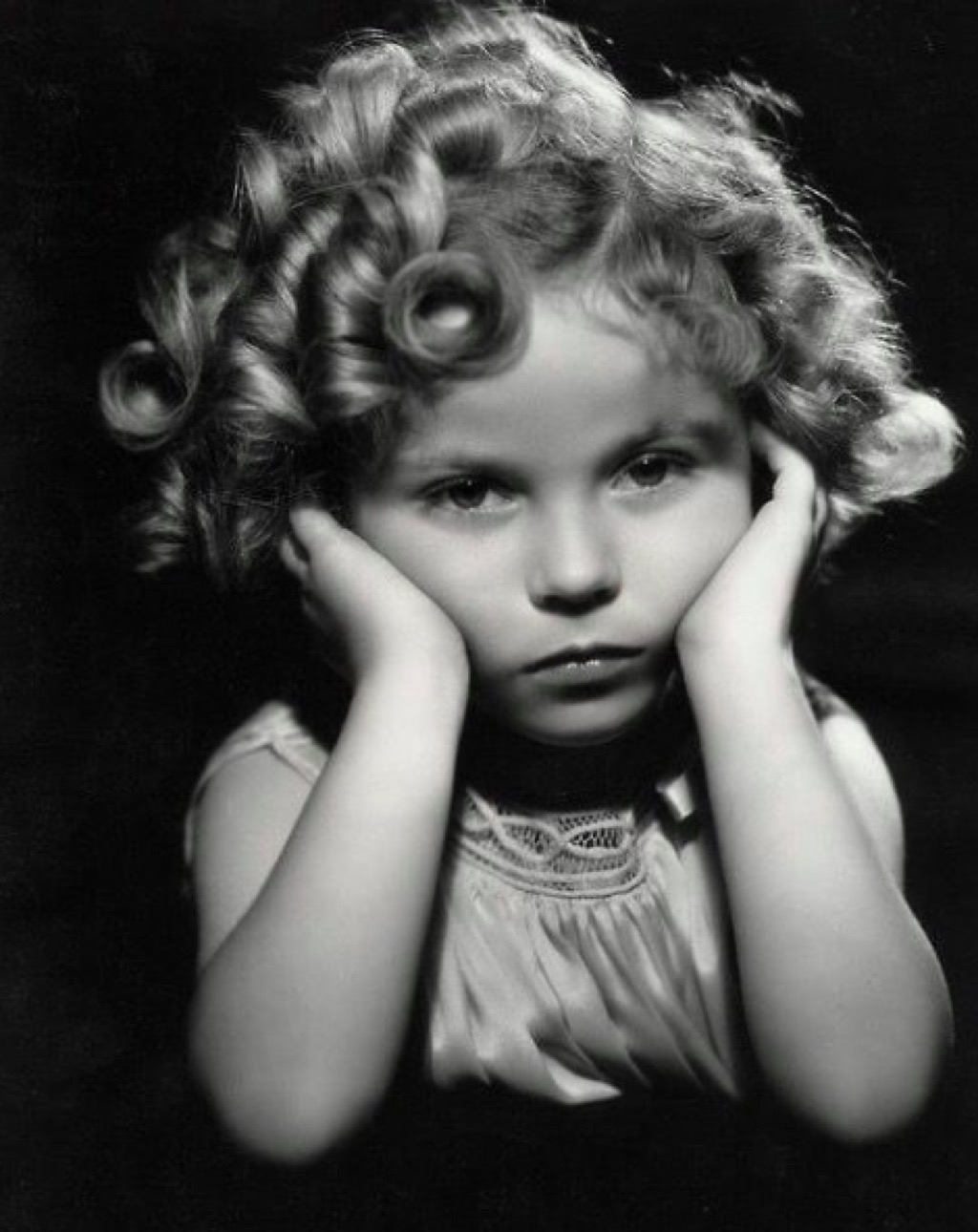 Shirley Temple iconic hair