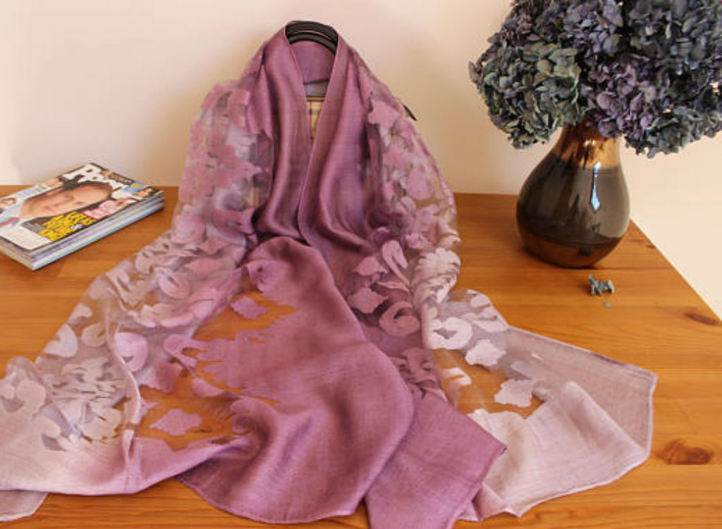 Silk scarf mother's day gifts