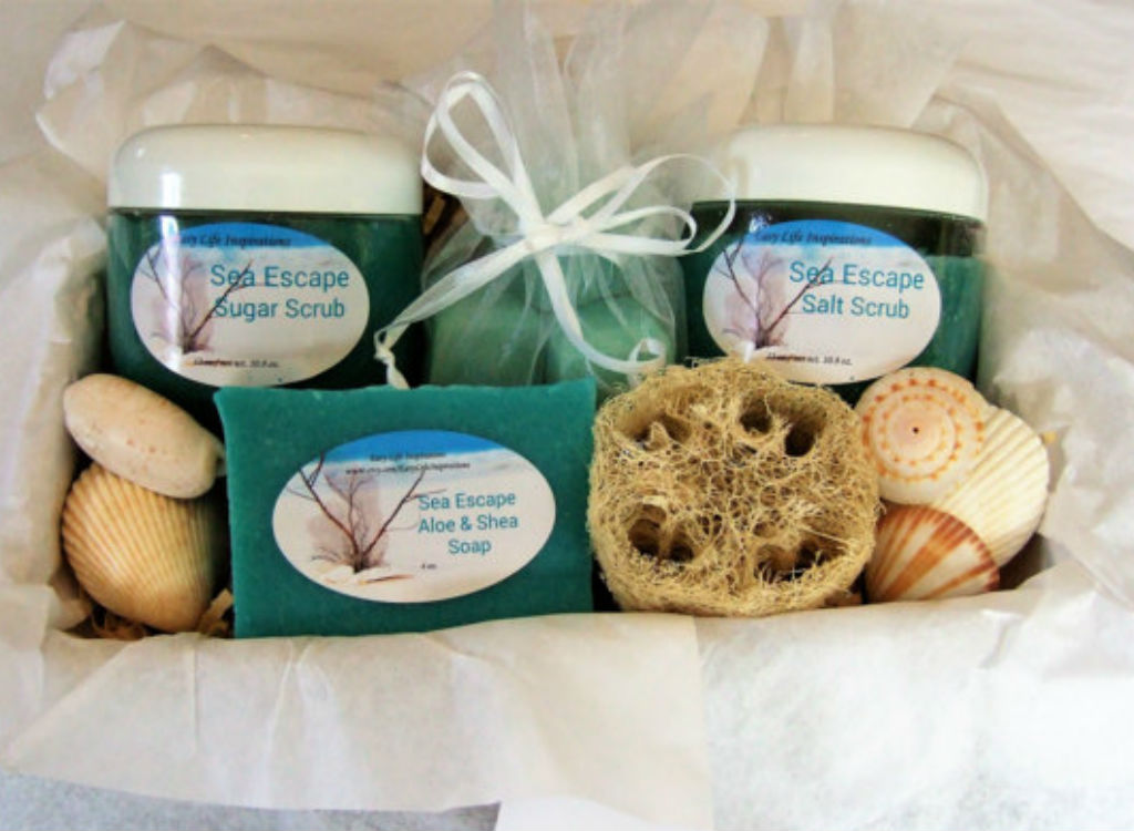 Sea escape scrub set mother's day gifts