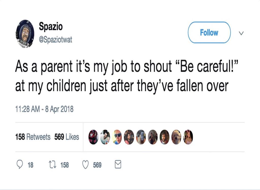 Funniest parenting tweets