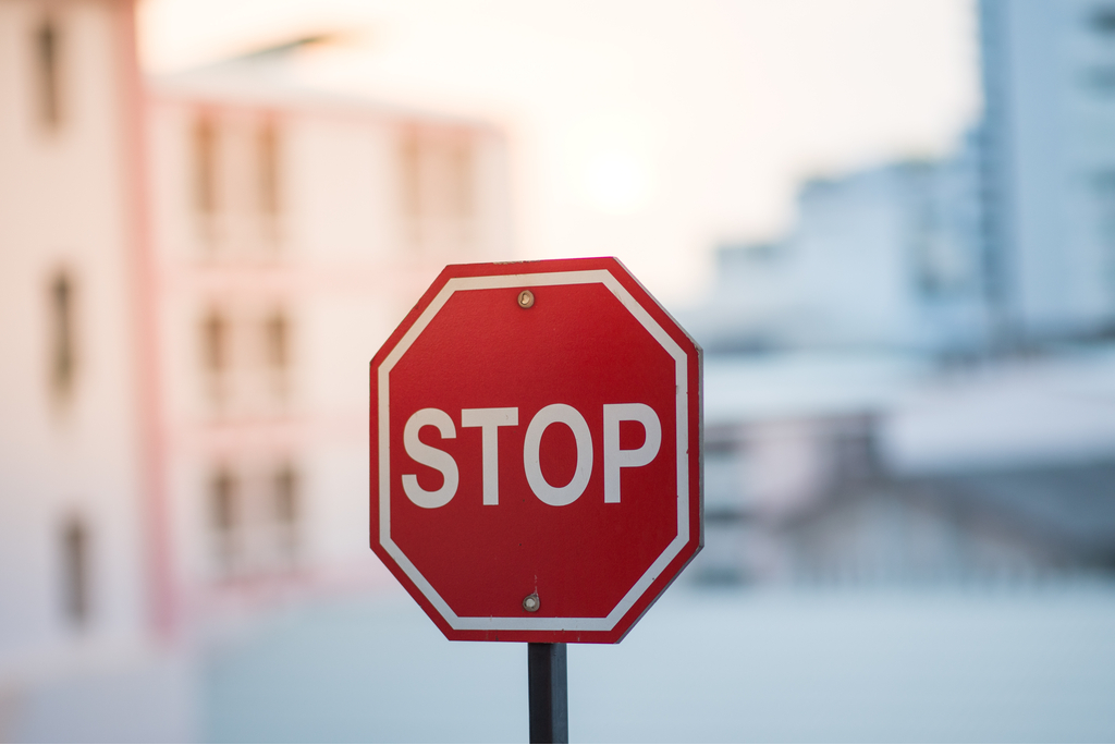 Stop Sign Illegal things