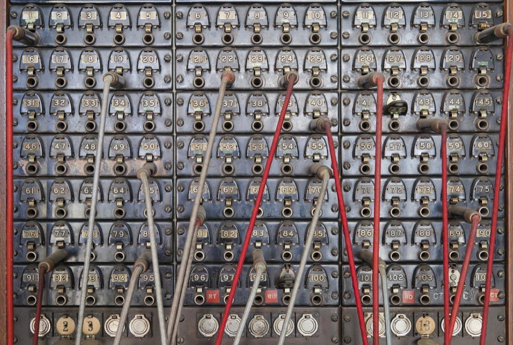 Switchboard operator obsolete jobs