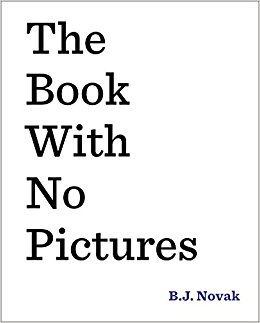 The Book With No Pictures B.J. Novak Jokes From Kids' Books