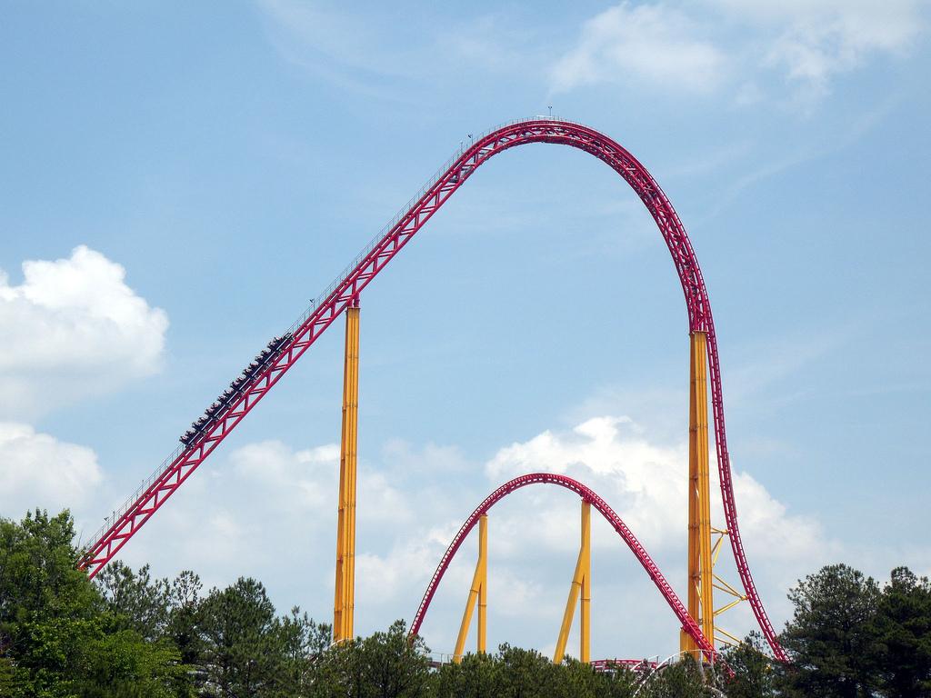 The Intimidator 305 Roller Coasters