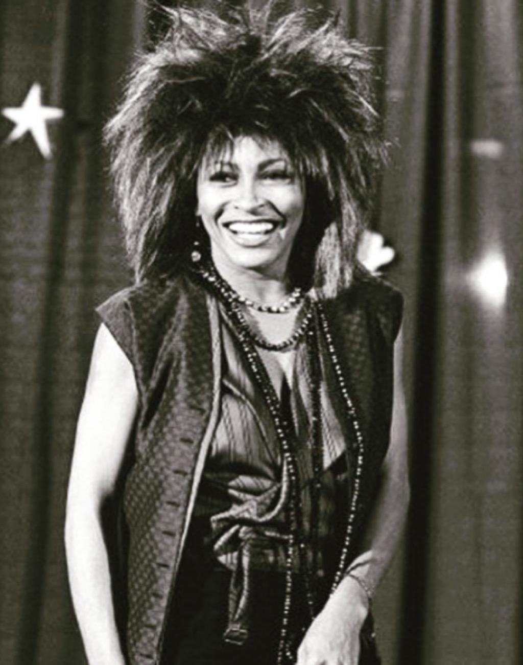 Tina Turner iconic hair