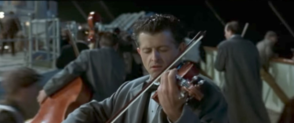 Titanic Band Playing