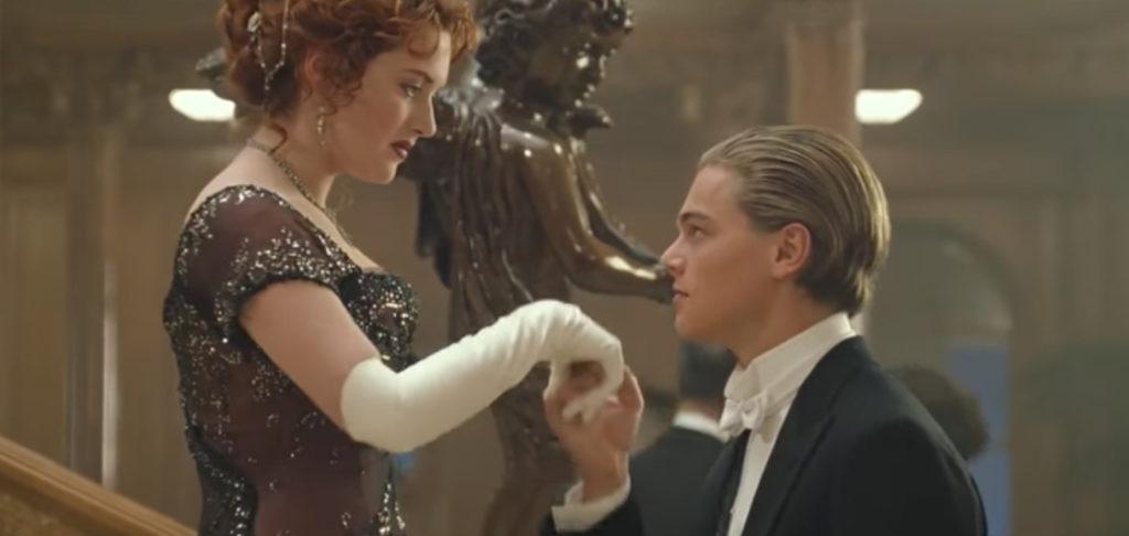 Titanic Dinner Party Scene