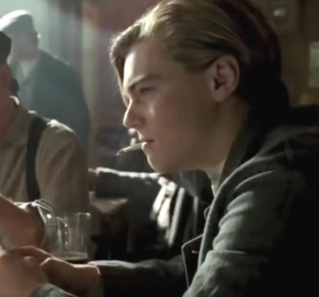 Titanic Jack Smoking Cigarette