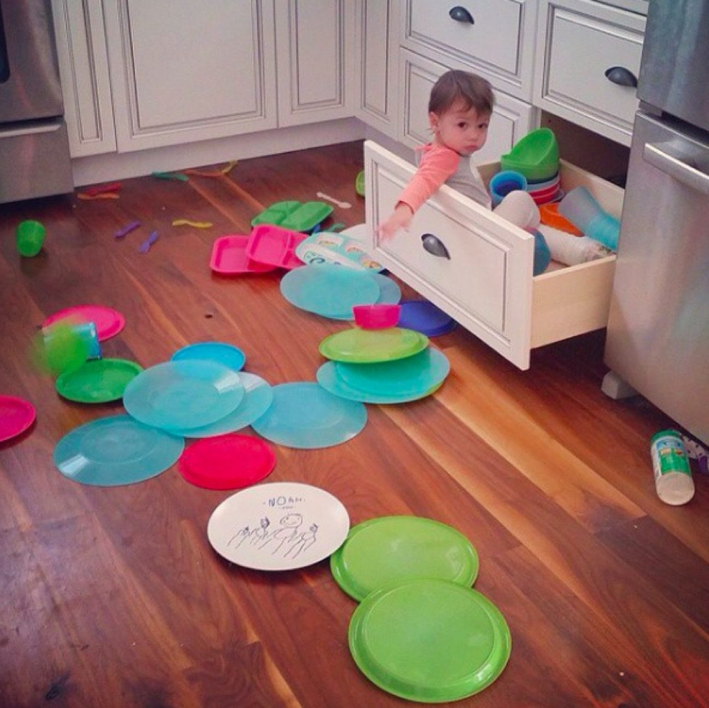 Baby drawer funny kid photos