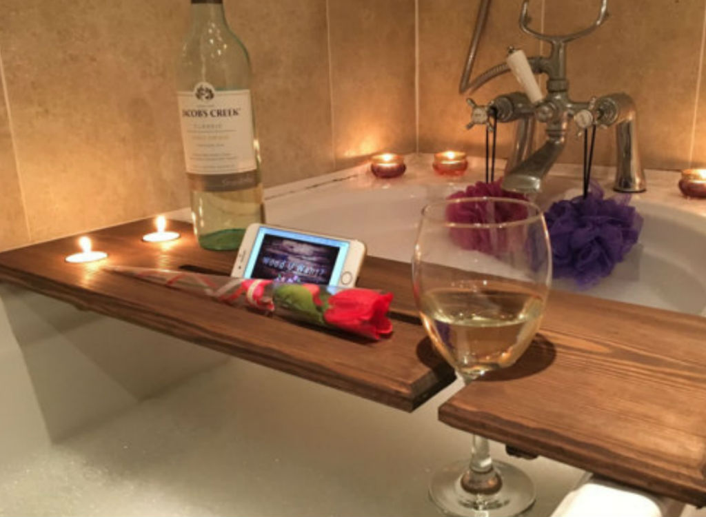 Bath caddy mother's day gift