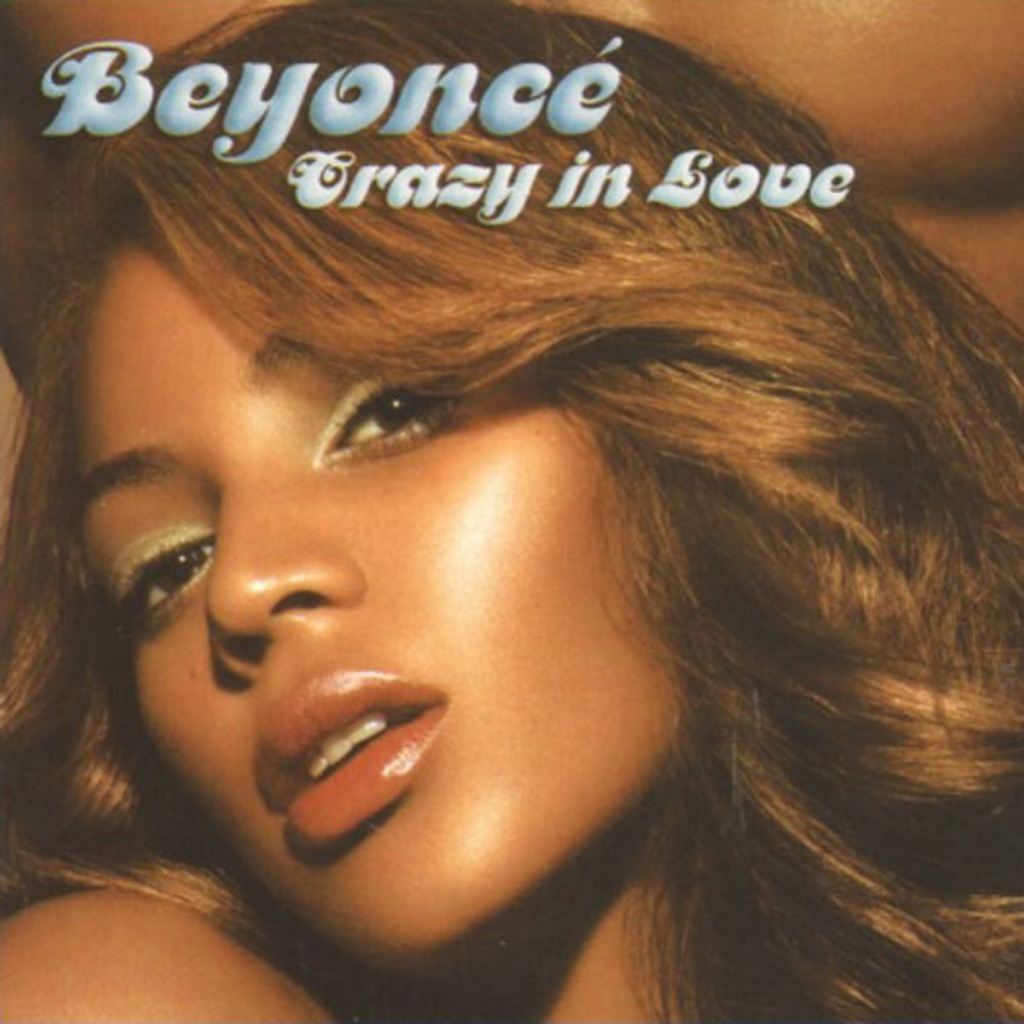 """Beyonce """"Crazy in Love"""" single cover"""