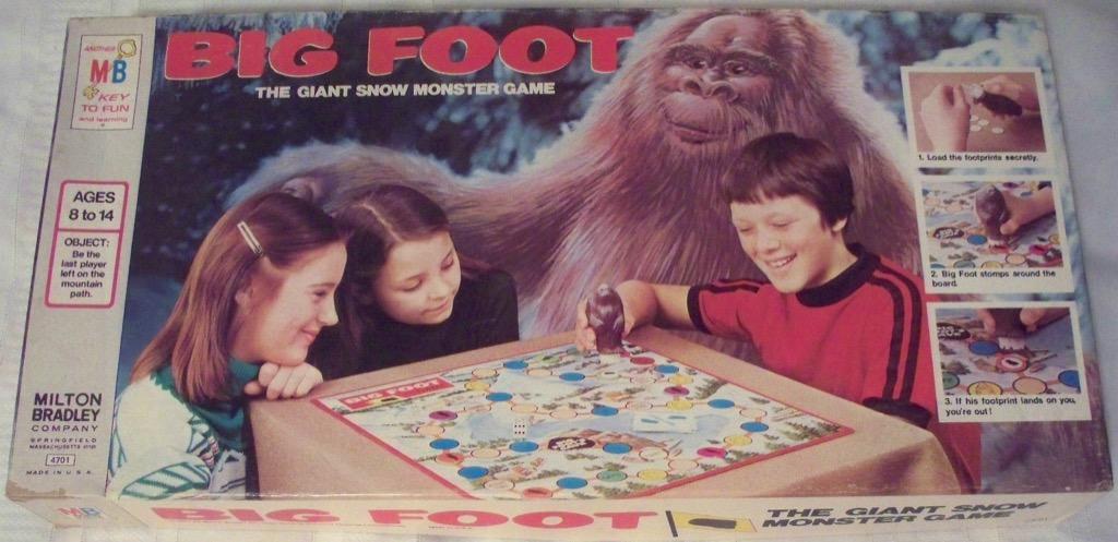big foot Worst Board games