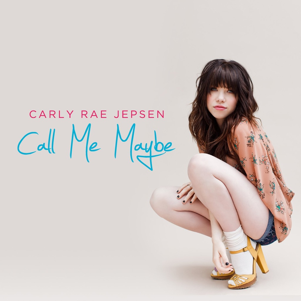 """Carley Rae Jepson """"Call Me Maybe"""" single cover"""